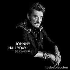 Discos de vinilo: HALLYDAY JOHNNY - DE L AMOUR (VINILO NUEVO). Lote 211315701