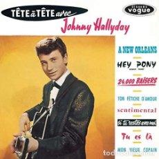 Discos de vinilo: HALLYDAY JOHNNY - TETE A TETE AVEC JOHNNY HALLYDAY (VINILO NUEVO). Lote 211315736