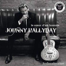 Discos de vinilo: HALLYDAY JOHNNY - LE COEUR D UN HOMME (VINILO NUEVO). Lote 211316262