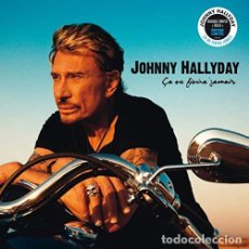 Discos de vinilo: HALLYDAY JOHNNY - CA NE FINIRA JAMAIS (VINILO NUEVO). Lote 211316292