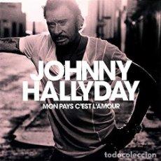 Discos de vinilo: HALLYDAY JOHNNY - MON PAYS C EST L AMOUR (VINILO NUEVO). Lote 211316317