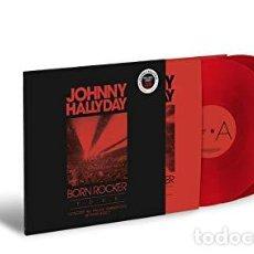 Discos de vinilo: HALLYDAY JOHNNY - BORN ROCKER TOUR (VINILO NUEVO). Lote 211316571