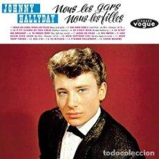 Discos de vinilo: HALLYDAY JOHNNY - NOUS LES GARS NOUS LES FILLES (VINILO NUEVO). Lote 211316586