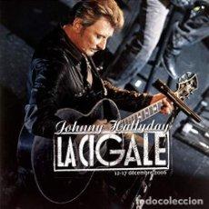 Discos de vinilo: HALLYDAY JOHNNY - FLASHBACK TOUR LA CIGALE (VINILO NUEVO). Lote 211316596