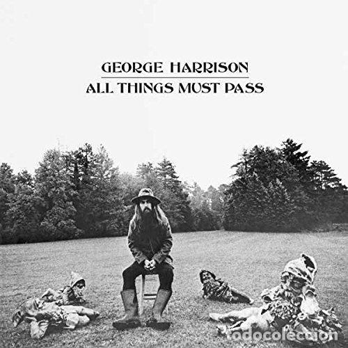 harrison george - all things must pass (vinilo - Comprar en todocoleccion -  211316947