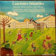 Discos de vinilo: CANCIONES INFANTILES - DIR EDMÓN COLOMER CORAL LOS PEQUES. Lote 211385535