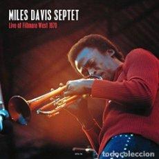 Discos de vinilo: MILES DAVIS - LIVE AT THE FILLMORE WEST - SAN FRANCISCO (VINILO NUEVO). Lote 211339807