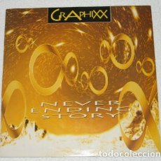 Discos de vinilo: GRAPHIXX, NEVER ENDING STORY , MAXI-SINGLE, SPAIN 1994. Lote 211387641