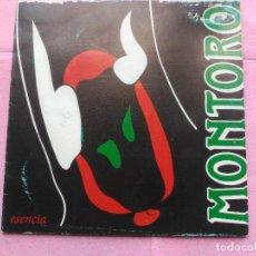 Discos de vinilo: SINGLE PROMO MONTORO - UN CUENTO DE FANTASMAS - PERFIL SPAIN 1992 FLAMENCO PROG. Lote 211388627