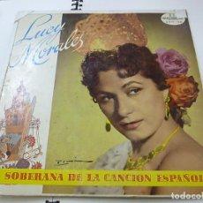 Discos de vinilo: LUCY MORALES - LA SOBERANA DE LA CANCION ESPAÑOLA - LP -DISCOMODA -DCM-139 -N. Lote 211389266