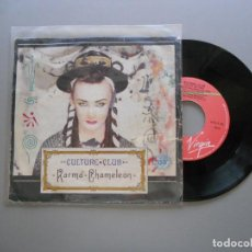 Discos de vinilo: CULTURE CLUB – KARMA CHAMELEON - SINGLE 1983 VG++/VG+. Lote 211390264