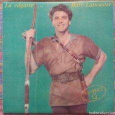 Discos de vinilo: HOMBRES G–LA CAGASTE... BURT LANCASTER. Lote 211391535