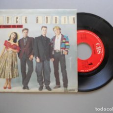 Discos de vinilo: COCK ROBIN – THE PROMISE YOU MADE SINGLE 2986 VG++/VG+. Lote 211391686