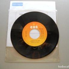 Discos de vinilo: THE CLASH – LONDON CALLING/ARMAGIDEON TIME - SINGLE 1980 VG++ SIN PORTADA ORIGINAL (PORTADA BLANCA). Lote 211392589