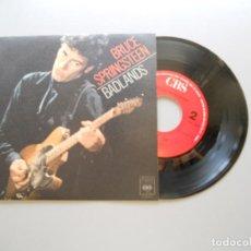 Discos de vinilo: BRUCE SPRINGSTEEN – BADLANDS - SINGLE 1978 NM/NM. Lote 211393910