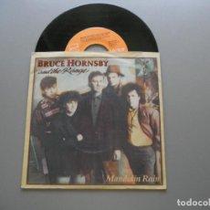 Discos de vinilo: BRUCE HORNSBY AND THE RANGE – MANDOLIN RAIN SINGLE EX/EX 1987. Lote 211394374