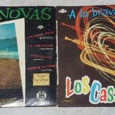 Discos de vinilo: LOTE DE 2 EPS - LOS CASANOVAS - 1959 Y 1960 -. Lote 211394487