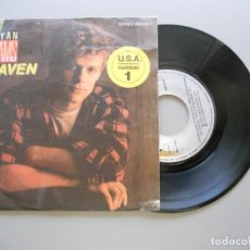 Discos de vinilo: BRYAN ADAMS – HEAVEN - SINGLE 1985 VG++/VG+. Lote 211395205