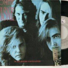 "Discos de vinilo: COMITE CISNE 7"" SPAIN 45 SI ME QUEDO ESPERANDO ROSA DEL DESIERTO SINGLE VINILO 1991 POP ROCK PROMO. Lote 211395337"