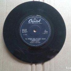 Discos de vinilo: BOBBY GENTRY - I´LL NEVER FALL IN LOVE AGAIN SINGLE 1969 EDICION INGLESA. Lote 211396390