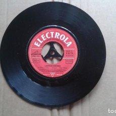 Discos de vinilo: FRED BERTELMANN - DER LACHENDE VAGABUND SINGLE 1957 EDICION ALEMANA. Lote 211396489
