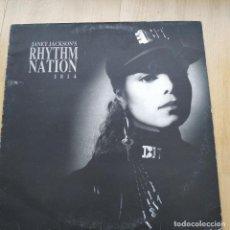 Discos de vinilo: VINILO LP JANET JACKSON – RHYTHM NATION 1814. Lote 211396944