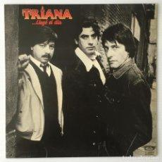 Discos de vinilo: TRIANA. LLEGÓ EL DIA. MOVIEPLAY, 1983. ROCK.. Lote 211399415