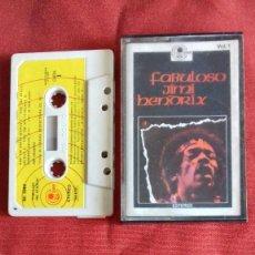 Discos de vinilo: JIMI HENDRIX CASETTE SELLO CARNABY AÑO 1975 EDITADO EN ESPAÑA.( ESTA PROBADO ). Lote 211400116