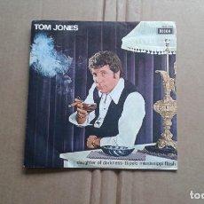 Discos de vinilo: TOM JONES - DAUGHTER OF DARKNESS SINGLE 1970 EDICION ESPAÑOLA. Lote 211400292