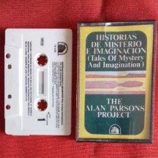 Discos de vinilo: THE ALAN PARSONS PROJECT ?CASETE 1976 HISTORIAS DE MISTERIO E IMAGINACIO.( ESTA PROBADO ). Lote 211400404