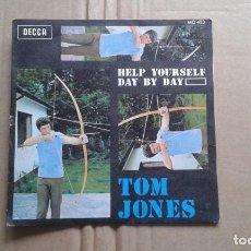 Discos de vinilo: TOM JONES - HELP YOURSELF SINGLE 1968 EDICION ESPAÑOLA. Lote 211400514