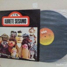 Discos de vinilo: ABRETE SESAMO- CTW- BANDA ORIGINAL DE LA SERIE TV- ESPECIAL CIRCULO DE LECTORES- 1976-CBS- MADRID. Lote 211402075
