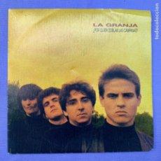Discos de vinilo: SINGLE - LA GRANJA - POR QUIEN DOBLAN LAS CAMPANAS - MADRID - EX. Lote 211402245