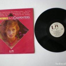 Discos de vinilo: THE VENTURES - PLAY THE CARPENTERS - HISPAVOX UNITED ARTISTS HUS 061 117 - ESPAÑA 1974. Lote 211402951