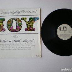 Discos de vinilo: THE VENTURES - PLAY THE CLASSICS - UAS 29340 - EDITADO EN ALEMANIA. Lote 211403044