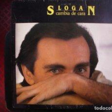 Discos de vinilo: SLOGAN- CAMBIA DE CARA. LP.. Lote 211405381