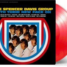 Discos de vinilo: LP THE SPENCER DAVIS GROUP WITH THEIR NEW FACE ON VINILO ROJO LIMITADO. Lote 211405934