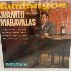 Discos de vinilo: JUANITO MARAVILLAS-YO NO LA SE TODAVIA/SEGUN LA GENTE DECIA/+2/EP 1967 BELTER,ESPAÑA. Lote 211411899