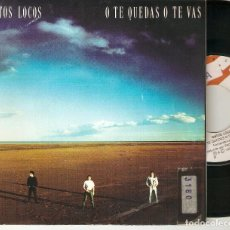 "Discos de vinilo: GATOS LOCOS 7"" SPAIN 45 O TE QUEDAS O TE VAS SINGLE VINILO 1991 POP ROCK ROCK&ROLL ROCKABILLY MIRA !. Lote 211415540"