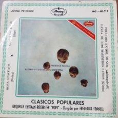 """Discos de vinilo: ORQUESTA EASTMAN ROCHESTER """"POPS"""" - DIRIGIDA POR FREDERICK FENNELL - CLÁSICOS POPULARES 1960. Lote 211416380"""