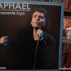 Discos de vinilo: RAPHAEL ETERNAMENTE TUYO ( HOJA PROMOCIONAL + PRENSA ) DESPERTAR AL AMOR / AMAME / ..... Lote 211417210