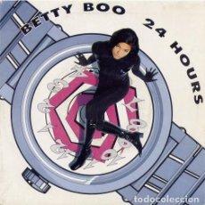 Discos de vinilo: BETTY BOO, 24 HOURS, SINGLE SPAIN 1990. Lote 211417374