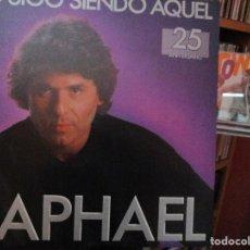 Discos de vinilo: RAPHAEL YO SIGO SIENDO AQUEL //HAY MOMENTOS DE AMOR / A VECES ME PREGUNTO / UN DIA MAS ..... Lote 211417482
