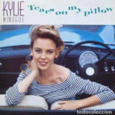 Discos de vinilo: KYLIE MINOGUE - TEARS ON MY PILLOW - MAXI-SINGLE SANNI 1990. Lote 211422577