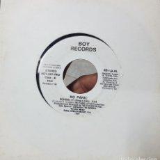 Discos de vinilo: NO PANIC - SCHOOL 91 Y LOVE IS LOVE - DISCO PROMOCIONAL - BOY RECORDS 1991. Lote 211425622
