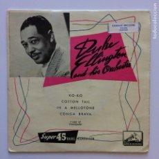 Discos de vinilo: DUKE ELLINGTON AND HIS ORCHESTRA ?– KO-KO FRANCE LA VOIX DE SON MAITRE. Lote 211427425
