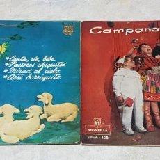 Discos de vinilo: LOTE DE 2 EPS DE VILLANCICOS - PHILIPS Y MONTILLA - 1968 Y 1959. Lote 211427522
