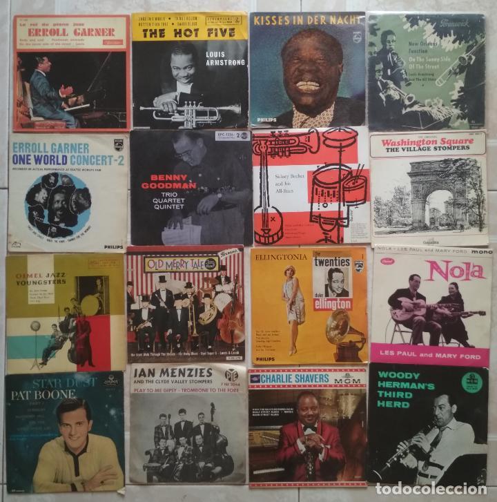 41 EP'S & 2 SINGLES DE JAZZ - BUEN ESTADO! (Música - Discos de Vinilo - EPs - Jazz, Jazz-Rock, Blues y R&B)