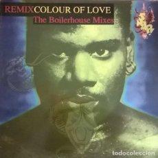 Discos de vinilo: SNAP!– COLOUR OF LOVE (REMIX) (THE BOILERHOUSE MIXES) MAXI-SINGLE SPAIN 1992. Lote 211428071