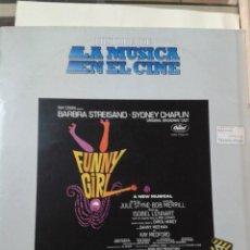 Discos de vinilo: HISTORIA DE LA MUSICA EN EL CINE - FUNNY GIRL. Lote 211428227